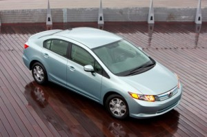 Гибрид Honda Civic Hybrid 2012